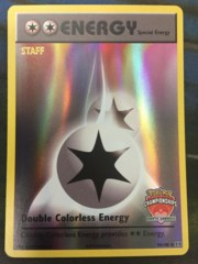 Double Colorless Energy - 90/108 - STAFF North America Championships Promo